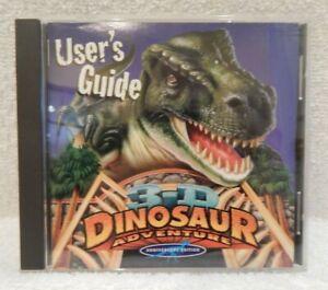 3-D Dinosaur Adventure (CD-ROM, 1996) Windows/Mac Anniversary Edition