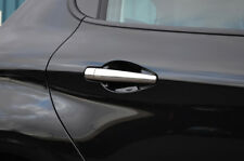 Chrome Door Handle Trim Set Covers To Fit Peugeot 208 4dr (2012+)