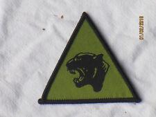 19th  Mechanised Brigade, schwarz/oliv,Patch,Abzeichen,TRF