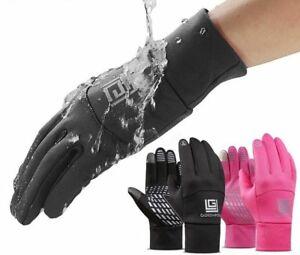 Waterproof Fishing Gloves Men Winter Anti Slip Outdoor Sports Hand Protection