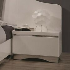 Coaster Furniture 205002P Nightstands Back Panel Pair Glossy White NEW