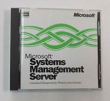 Microsoft Systems Management Server  Software CD  Version 1.2 With Product ID