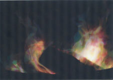 FIRE burning - 3D and Motion Postcard Greeting Card