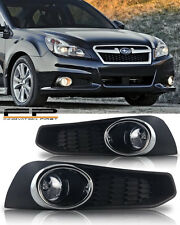 For 2013-2014 Subaru Legacy BM9 Fog Lights Clear Lamp Bulbs+Wirings+Switch- KIT