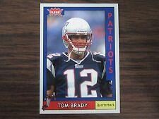 2003 Fleer Tiffany # 170 Tom Brady Card New England Patriots (B2) # 163 of # 200