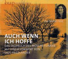 HÖRBUCH-CD NEU/OVP - Auch wenn ich hoffe - Das Tagebuch des Mosche Flinker