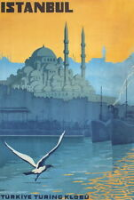 "Retro Istanbul Vintage Travel Photo Fridge Magnet 2""x 3"" Collectibles"