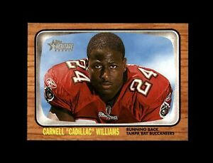 2005 Topps Heritage Football #343 Carnell Cadillac Williams (Buccaneers) MINT
