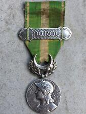 Y2) Belle médaille campagne du Maroc armée française french medal N°2