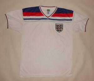 HOME SHIRT SCORE DRAW ENGLAND 1982 (M) Jersey Trikot Maillot Maglia Camiseta