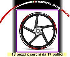 Fascette adesive x cerchi moto HONDA CBR 600 RR + 6 pezzi omaggio