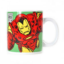OFFICIAL MARVEL COMICS CLASSIC RETRO IRON MAN COFFEE MUG TEA CUP NEW IN GIFT BOX