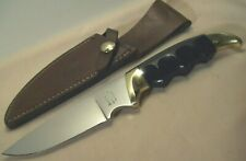 1970's~KERSHAW~KAI JAPAN~1034 ELK HUNTER~HIGH END HUNTING KNIFE w/ORIG. SHEATH~