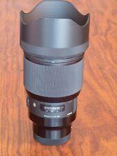 Sigma 85mm F/1.4 DG HSM Art Lens (L-Mount) - Mint