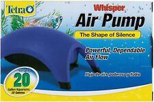 Tetra Whisper Minimal Noise Aquarium Air Pump for Aquarium up to 10 to 20-Gallon