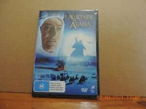 Lawrence of Arabia dvd region 4 brand new and sealed