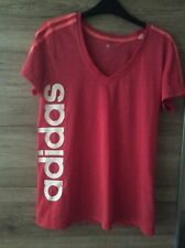 Ladies Pink Adidas T Shirt - Size 14