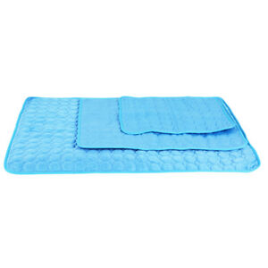 Pet Dog Cat Cooling Mat Summer Heat Relief Non Toxic Cushion Pad Pet Products JJ