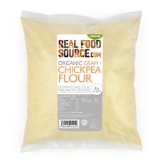 RealFoodSource - Organic Chickpea (Gram) Flour 1kg