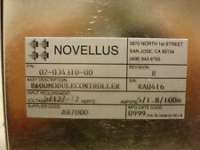 Novellus P100 Module Econtroller, 02-034310-00 Rev. R W/O Hard Drive