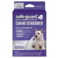 Medium Dog Worms Medicine Fenbendazole Safeguard Puppy Dewormer Tapeworm 8in1 US