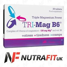 OLIMP TRI-MAG B6 30 tablets vitamin B6 magnesium stress tiredness cramp