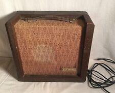 Vintage 1959 Sears 'WISH BOOK' SILVERTONE 3 Tube Guitar AMP AMPLIFIER 1451 WORKS