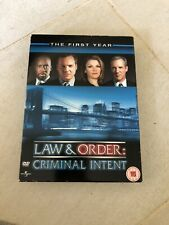 law and order criminal intent the first year DVD boxset