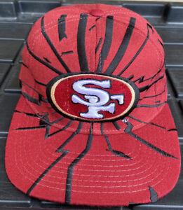 NWOT Vintage 90s San Francisco 49ers Starter Collision Snapback Hat Cap NFL