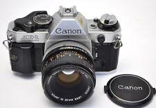 Canon AE-1 Program 35mm SLR Film Camera with FD 50mm F/1.8 S.C lens