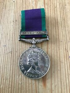 General Service Medal Northern Ireland to A Cavalry NCO £4.99 Start