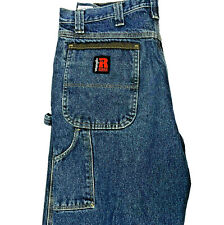 Wrangler RIGGS Industrial Dungaree Work Jeans Workwear 3W020A1 Carpenter Jeans