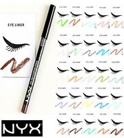 ~ NYX ~ Eye Liner Eyebrow  Pencil PICK YOUR COLOR - Buy 4 Get 1 FREE  Full Size
