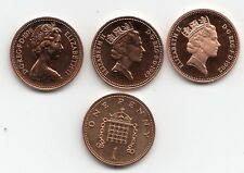 More details for uk proof one pence coins 1p 1971 to 1999 - choose your year