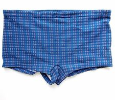 Vintage 1970s British swimming trunks Nylon swim costume mens sports wear 40-42""