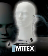 MITEX 1 WIRE ACOUSTIC TUBE EARPIECE WITH MIC/PTT - FOR ALL MITEX TWO WAY RADIOS
