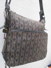 -AUTHENTIQUE sac à main  en toile et  cuir  FOSSIL  TBEG vintage bag