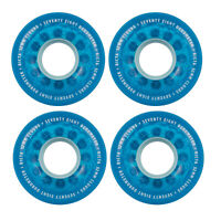 Ricta Skateboard Wheels 52mm Crystal Clouds 78A Blue Soft Cruiser