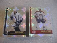 Pacific Heads Up 2001/02 Base card set 1-100
