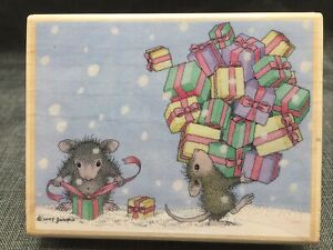 House Mouse Designs Mice Elves 2005 HMJR1034 a friend Monica many presents