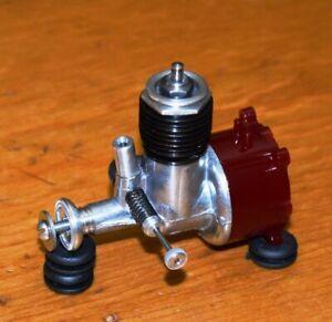 1958 OK Cub .049-A model airplane engine 049 vintage red nylon fuel tank glow