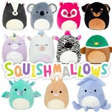 "SQUISHMALLOWS 12.5cm 5"" Plush Toy Anima Assortment Zebra Cheetah Squirrel Lion"