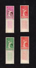 1961 South Vietnam 4 Stamps Full Set Mnh Youth Moral Rearmament Sport Sc 174-7