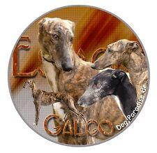Design  Aufkleber Galgo Espanol / Spanischer Windhund 15cm Autoaufkleber