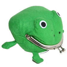 Frog Wallet Anime Cartoon Wallet Coin Purse Manga Flannel Cosplay Wallet  482UK