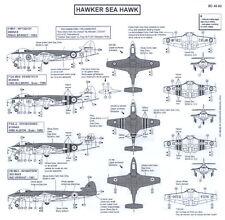 Berna Decals 1/48 HAWKER SEA HAWK British Navy Fighter
