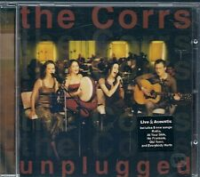 CD ALBUM 14 TITRES--THE CORRS--MTV UNPLUGGED 1999