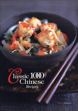 The Classic 1000 Chinese Recipes, By Wendy Hobson,in Used but Acceptable conditi