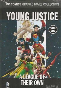 °YOUNG JUSTICE A LEAGUE OF THEIR OWN DC COMICS GRAPHIC NOVEL #35° English