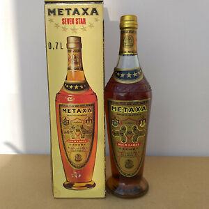 Metaxa Gold Label Export 40% Alkohol Griechenland  0,7 Liter OVP alte Ausführung